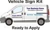 Van Signwriting Kit