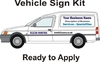 Van Signwriting Kit (Small Vans)