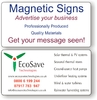 Magnetic Signs - Vehicle 620 x 300mm